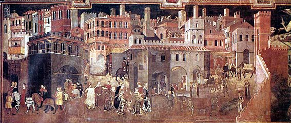 Things to do in Siena Allegorie Lorenzetti Civic Museum